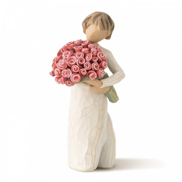Willow Tree, Figur, Abundance, Rosenstrauß, So much Love!, 14 cm