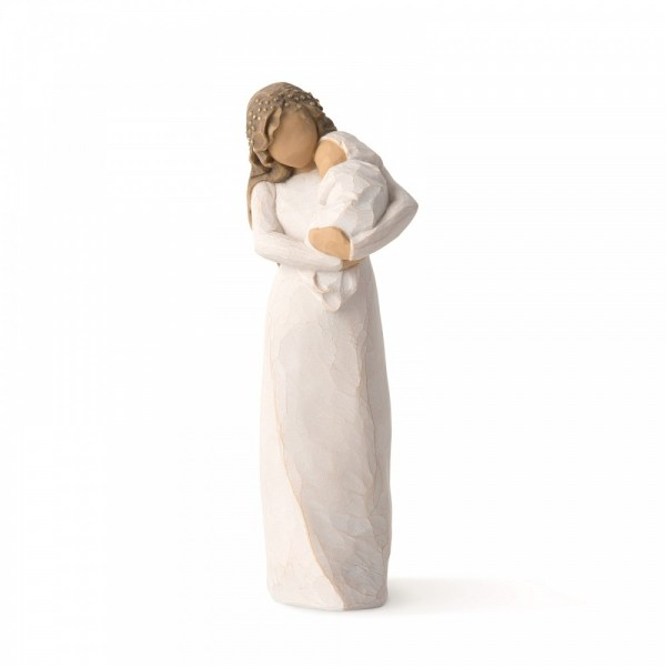 Willow Tree, Figur, Sanctuary, Mutter mit Baby, 17 cm