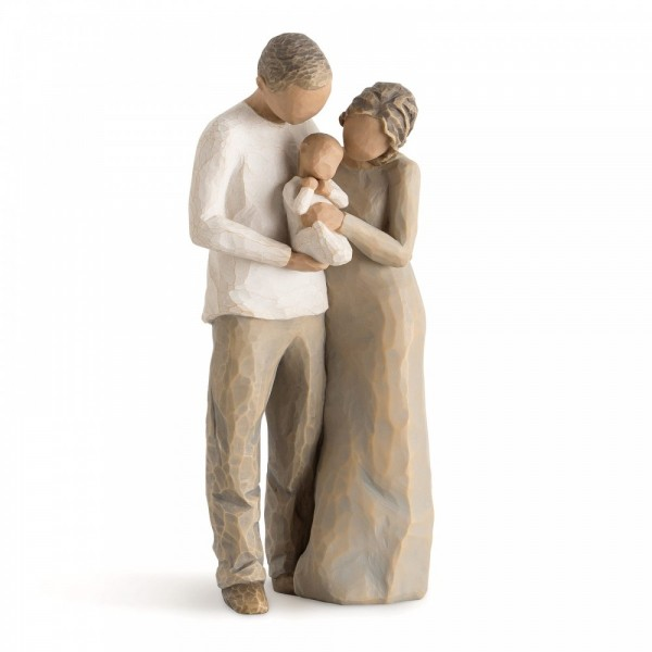 Willow Tree, Familie, We are Three, 22 cm