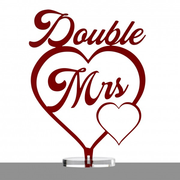 Double Mrs. | Tortentopper & Aufsteller